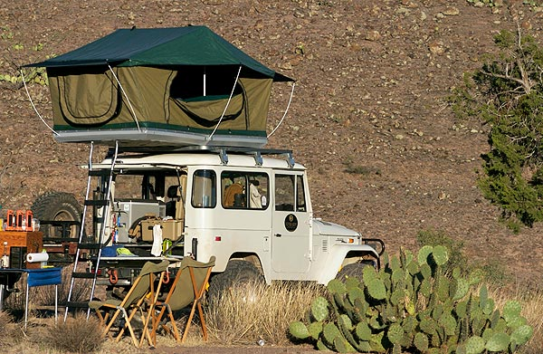 A nice aspect of the Technitop design is the outward sloping end walls which makes a dramatic difference that results in a more spacious tent using an ... & Toyota FJ Cruiser Forum - View Single Post - Complete Roof-Top ...