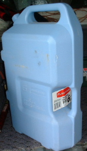 The Rubber Maid 6 Gallon Water Jug Fit Neatly In My Truck Bed Just To Front On Wheel Well